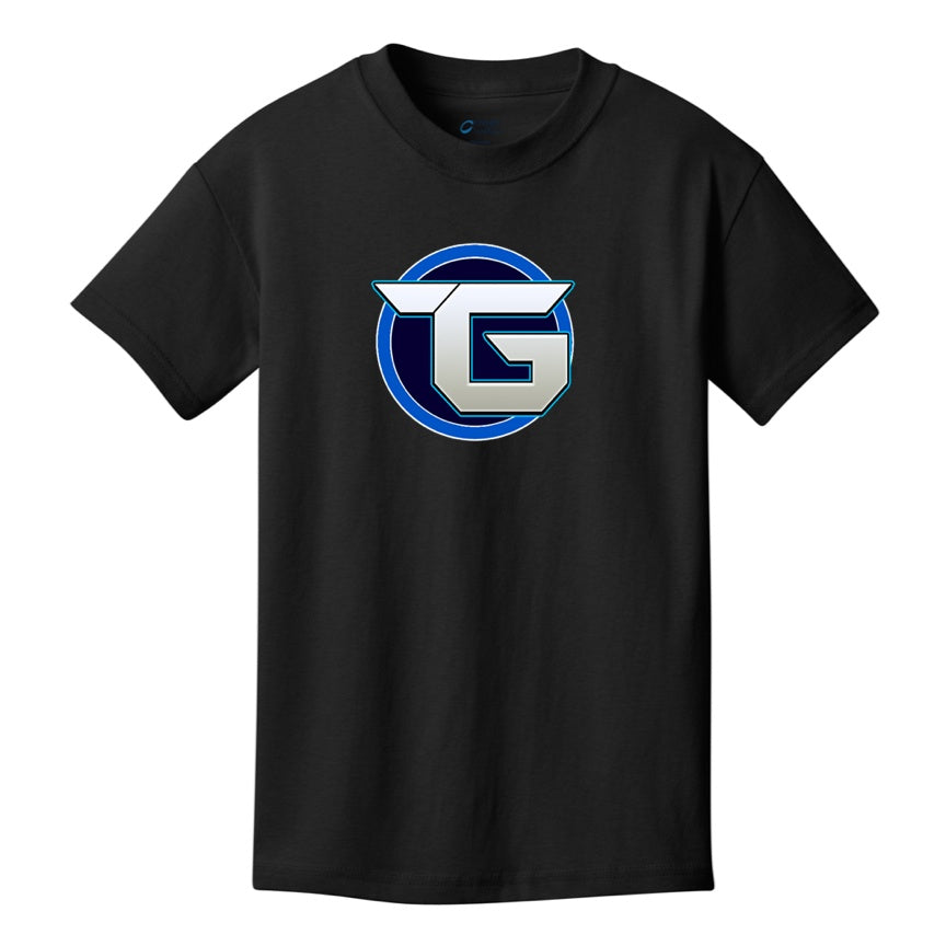 Official Target3DGaming Full Blue Logo Shirts