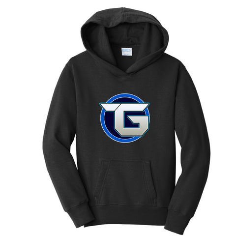 Official Target3DGaming Full Blue Logo Hoodies