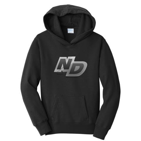 Official NotroDan ND Text Logo Hoodie