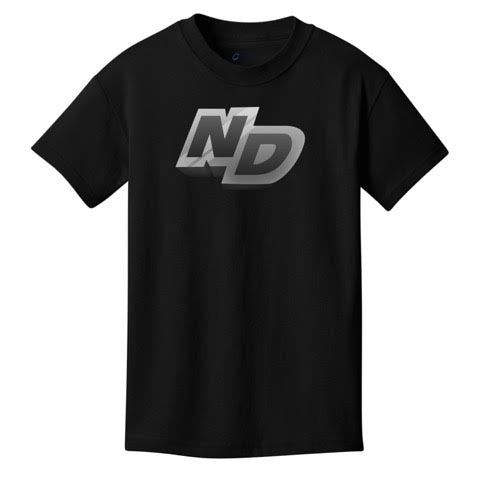 Official NotroDan ND Text Logo Shirt