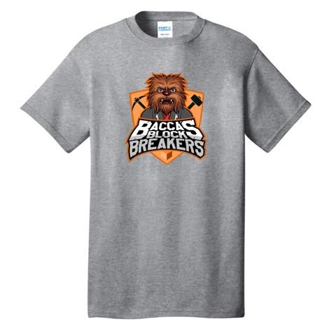 JeromeASF Battle Block Breakers Orange Shirt