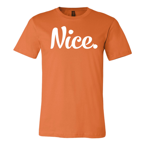 Limited Time: Signature Orange & White Nice Posture Shirt- JeromeASF Signed