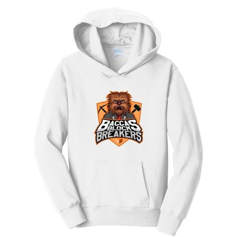 JeromeASF Battle Block Breakers Orange Hoodies