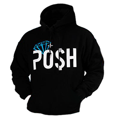 Posh Life Clothing Hooded Sweatshirts