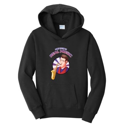 Official Grandayy Only Real Music Hoodies