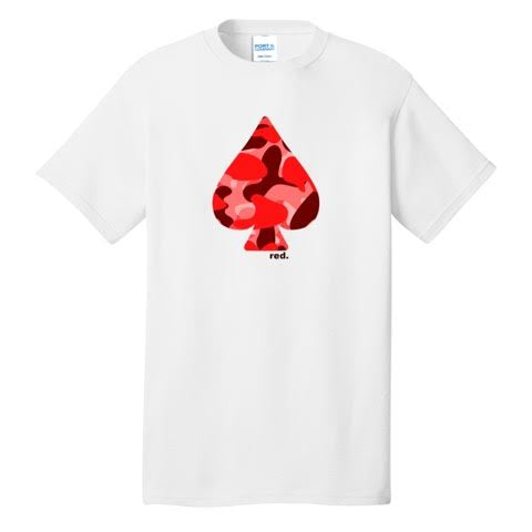 Official Mr. Red Full Red Ace Shirt