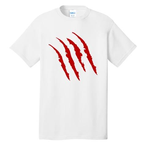 Official Kyle Bauske Full Red Jaguar Claw Shirt