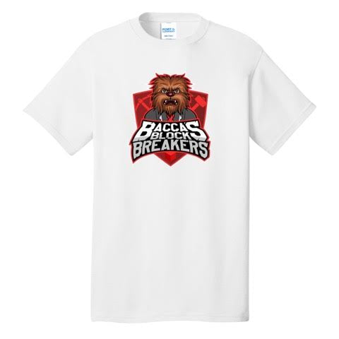 JeromeASF Battle Block Breakers Red Shirt