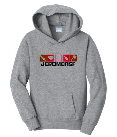 JeromeASF Signature Battle Block Grey Hoodie