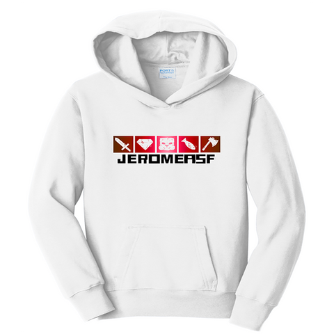 JeromeASF Signature Battle Block White Hoodie