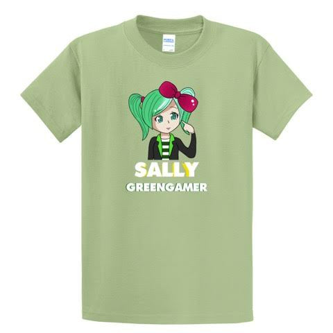 Official SallyGreenGamer Season II Shirts