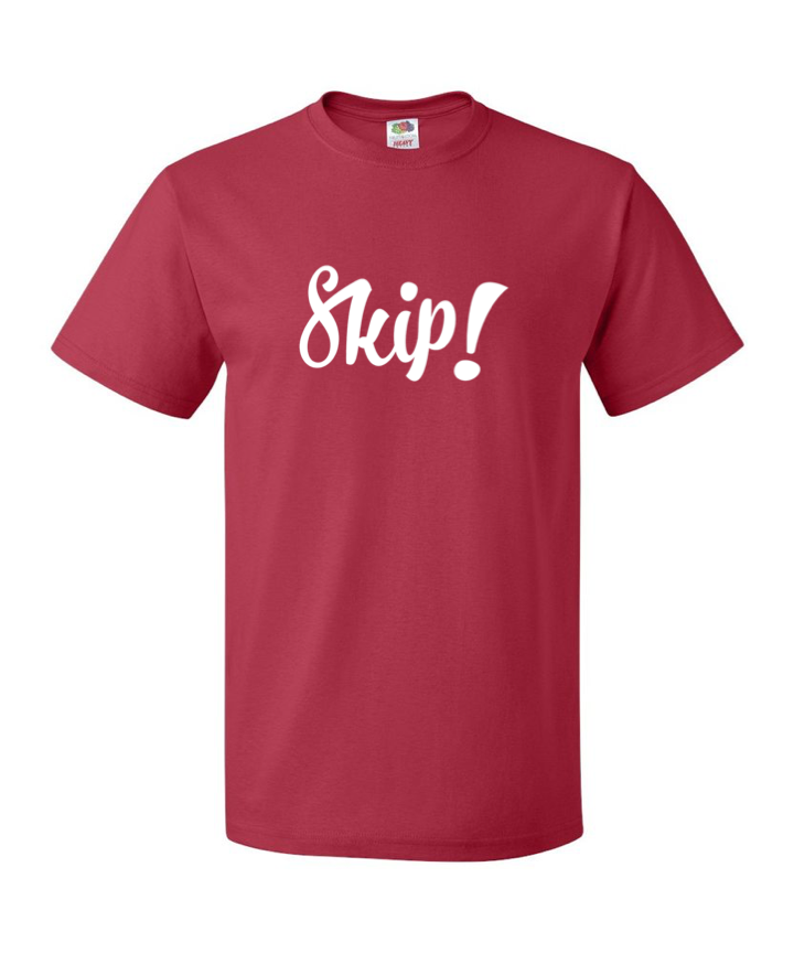 Signature Red Skip Nice Posture Shirt