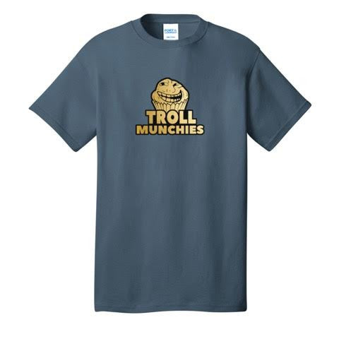 Official Troll Munchies Logo T-Shirts