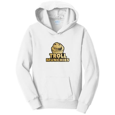 Official Troll Munchies Logo Hoodies