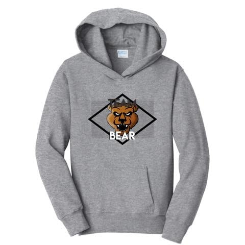 Official The Team Bear Logo Hoodies