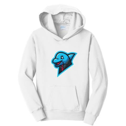 Official xNestorio Classic Dolphin Logo Hoodie