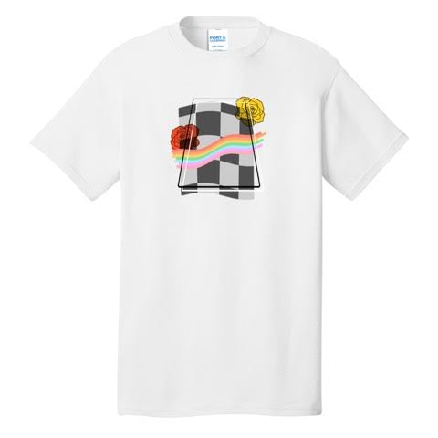 Official Pwincessly Rainbow Checker Shirts