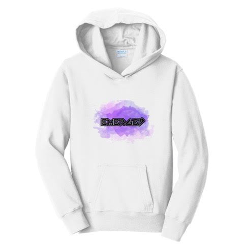 Official TheEmergedRaider White Hoodies