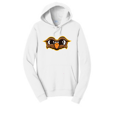 Official Doni Bobes Owl Logo White Hoodie