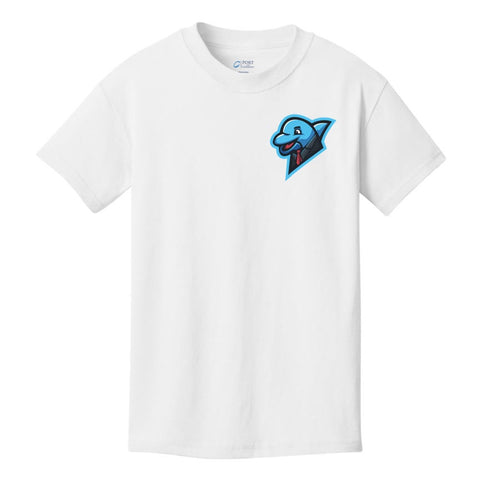 Limited xNestorio Blue Logo Dolphin Chest Shirt