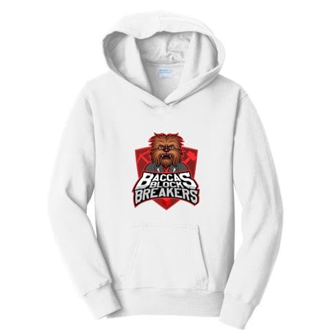 JeromeASF Battle Block Breakers Red Hoodie