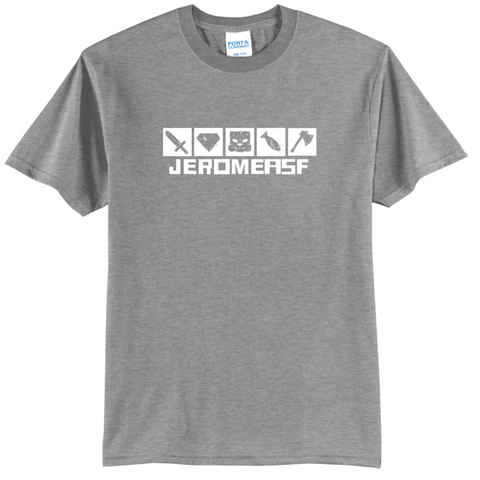 JeromeASF Signature Battle Block Grey Shirt