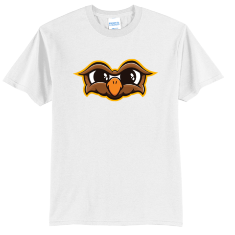 Official Doni Bobes Owl Logo White Shirt