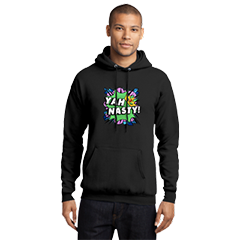 Official Frizzlenpop Yah Nasty Black Hoodie