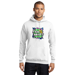 Official Frizzlenpop Yah Nasty White Hoodie