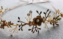 The Gold Flower Headpiece