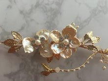 Floral Gold & Pearl Headdress