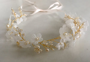 "The ""Light as a Flower"" Headpiece"