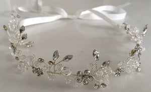 "The ""Sparkle"" Headpiece in Silver"
