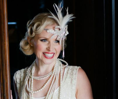Great Gatsby Inspired 1920's headpiece Workshop
