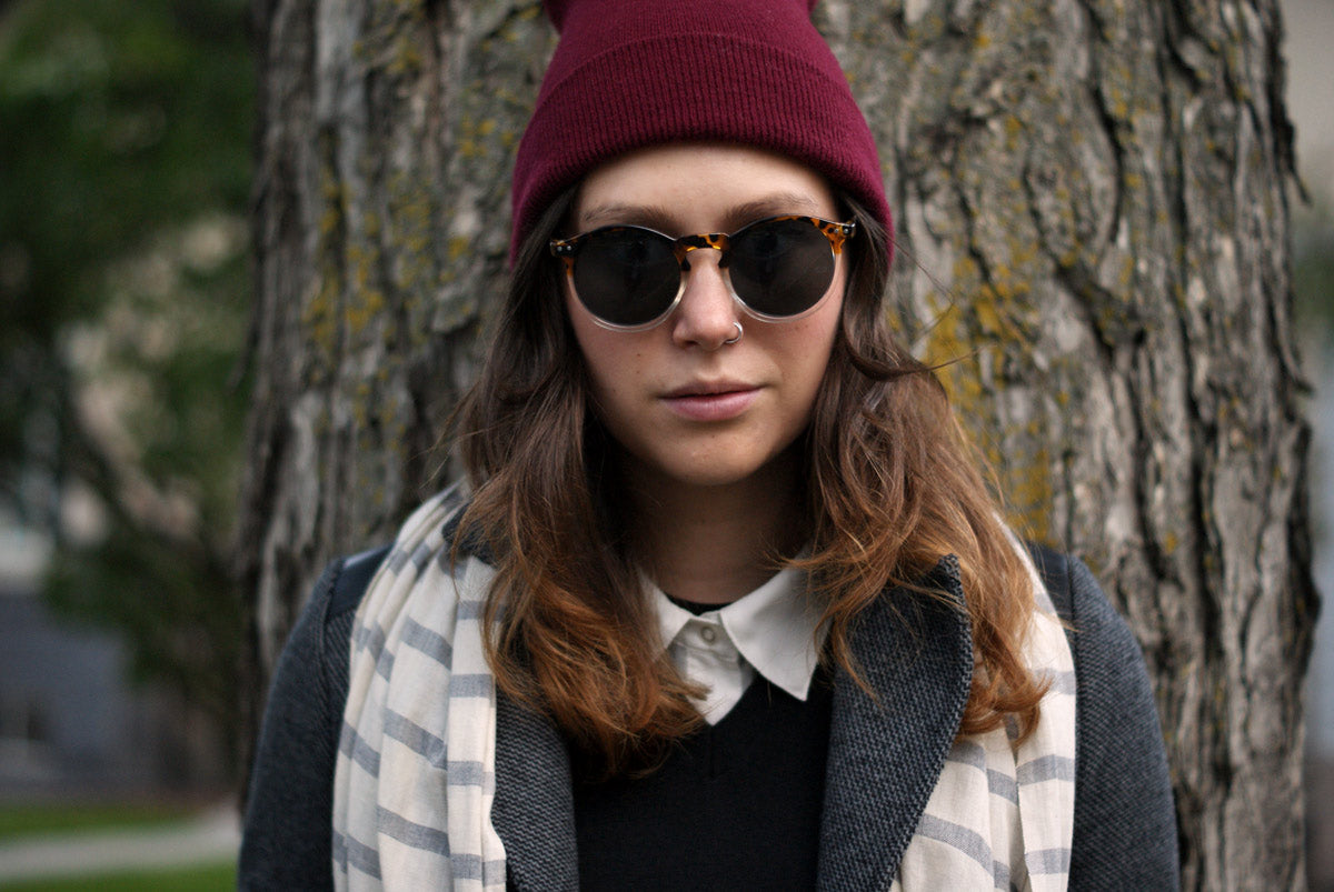 Layer Up // Flannel Foxes Tomboy Fashion