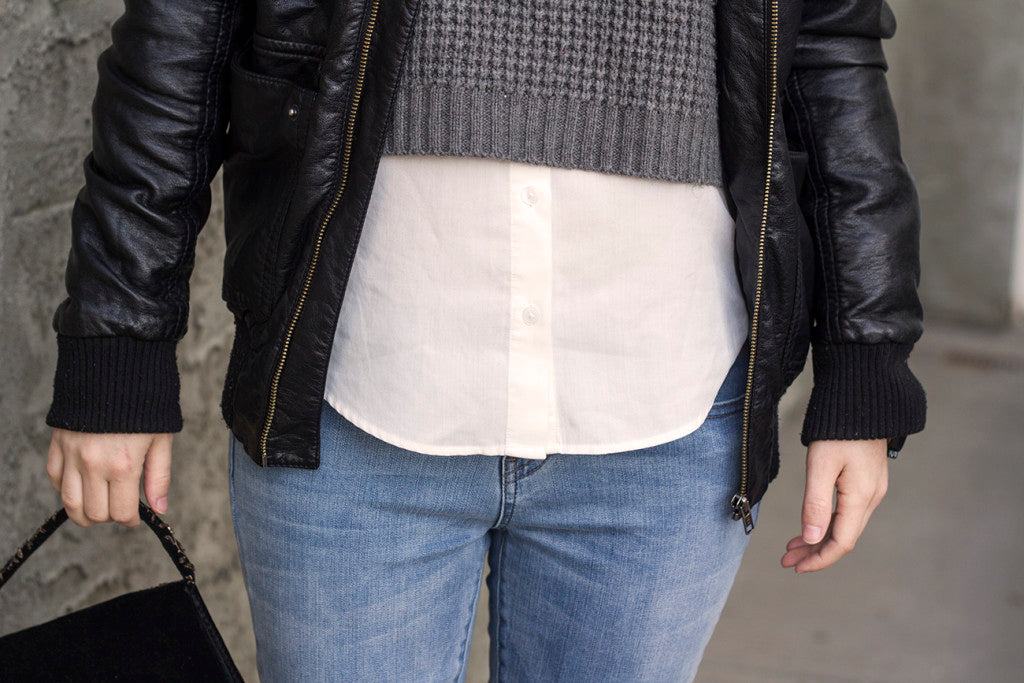 Layered style // Flannel Foxes Tomboy Fashion Blog