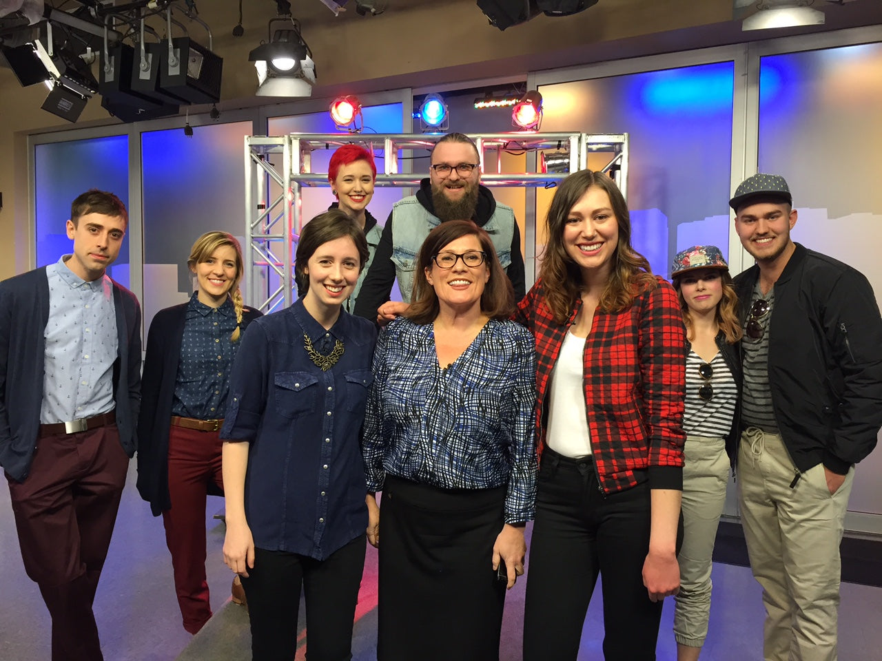 Flannel Foxes on Breakfast Television