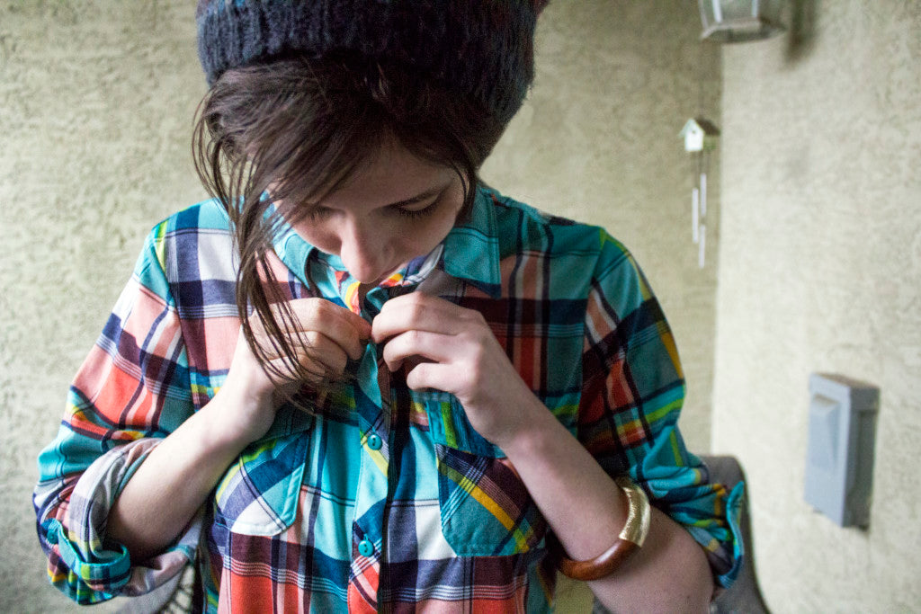 Flannel Foxes // Tomboy Fashion Blog