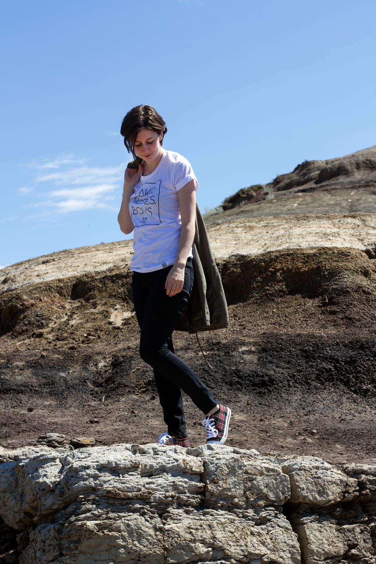 Badlands Babe // Flannel Foxes Tomboy Fashion Blog