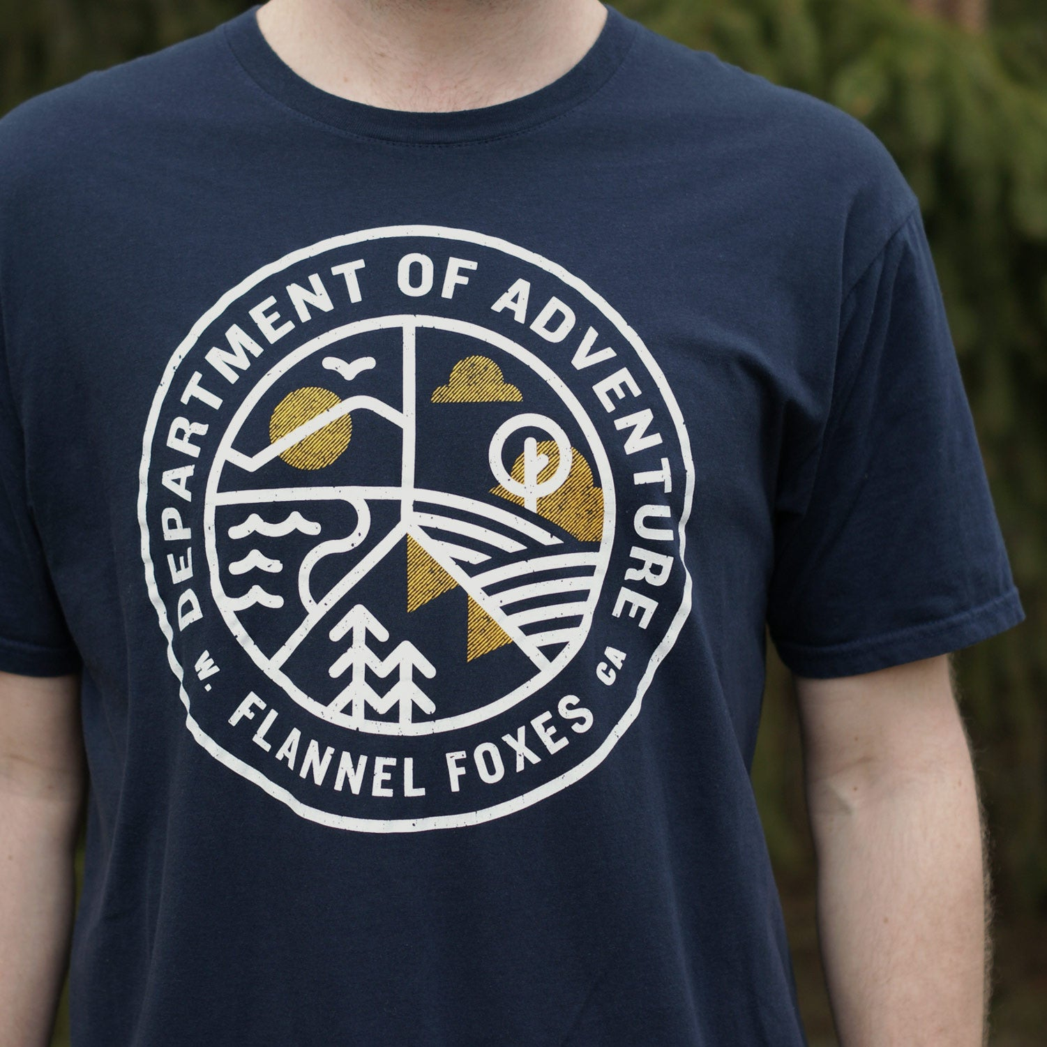 Department of Adventure Tee