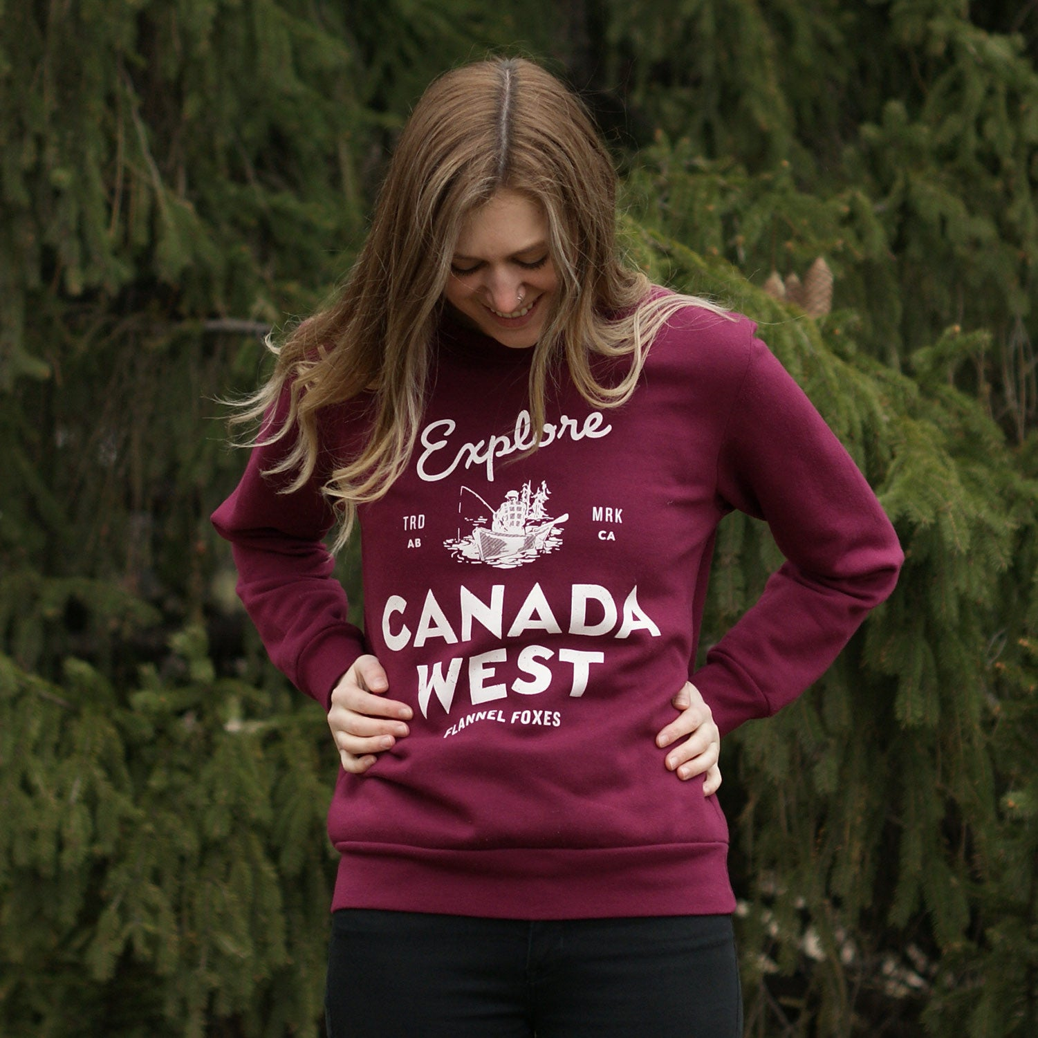 Explore Canada West Sweatshirt