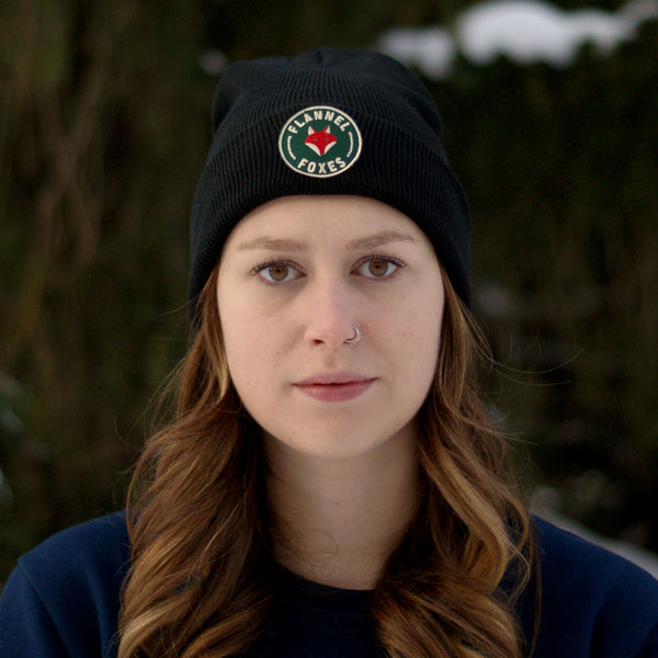 Fox Logo Toque - Black