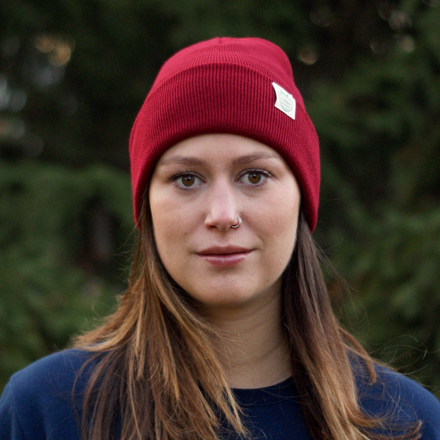 Fox Shield Toque - Maroon