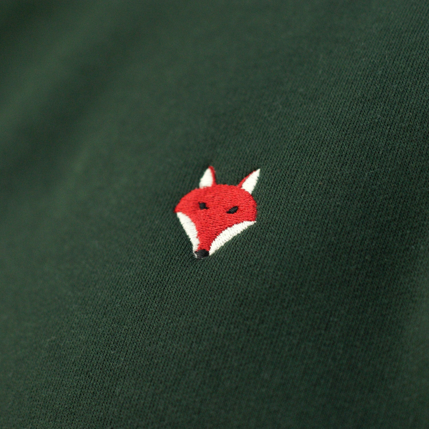 Embroidered Fox Sweatshirt