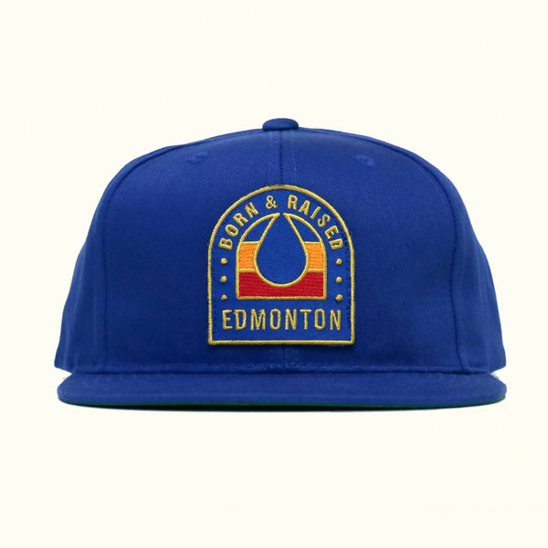 Flannel Foxes x OilersNation - Born & Raised Hat