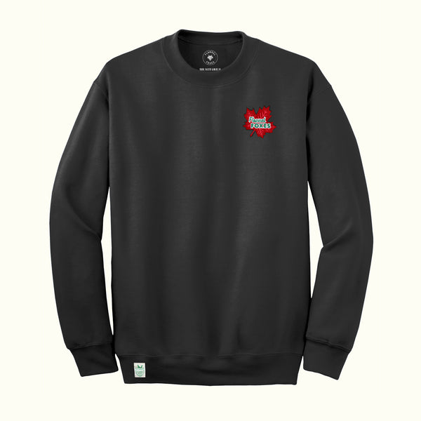 Maple Leaf Sweatshirt – Charcoal