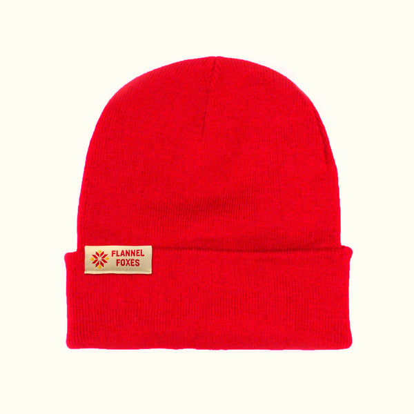 Snowflake Toque - Red