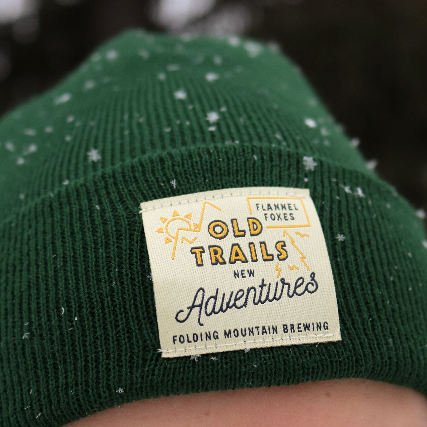 Folding Mountain Brewing X Flannel Foxes Toque