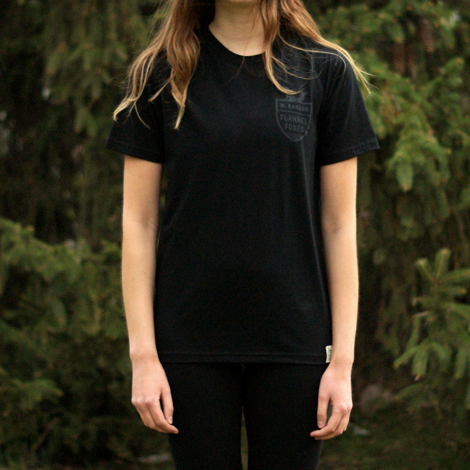 Fox Shield Tee - Black