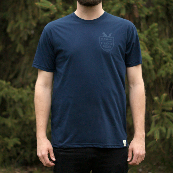 Fox Shield Tee - Navy